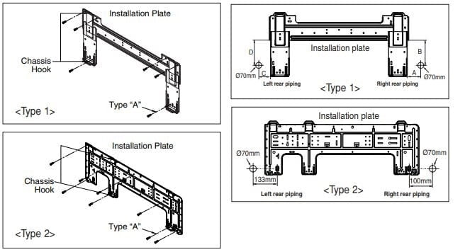 Fixing Installation Plate