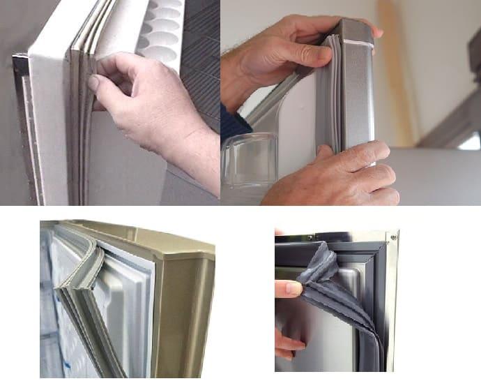 Check the gaskets on your fridge door