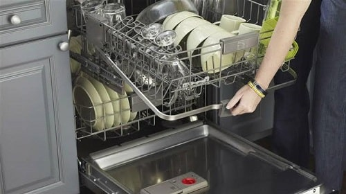 Be sure to not load your dishwasher improperly