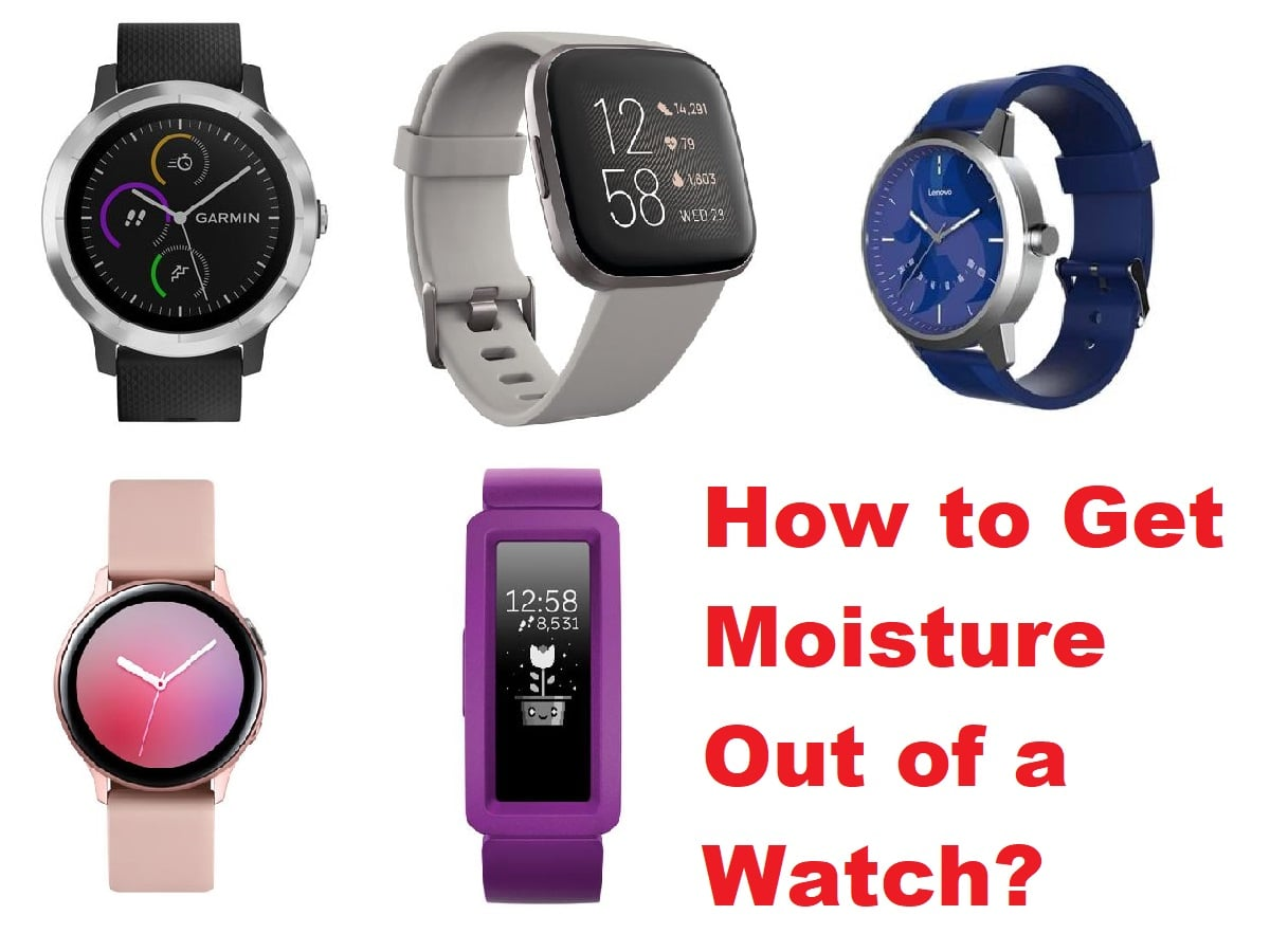 How to Get Moisture Out of a Watch