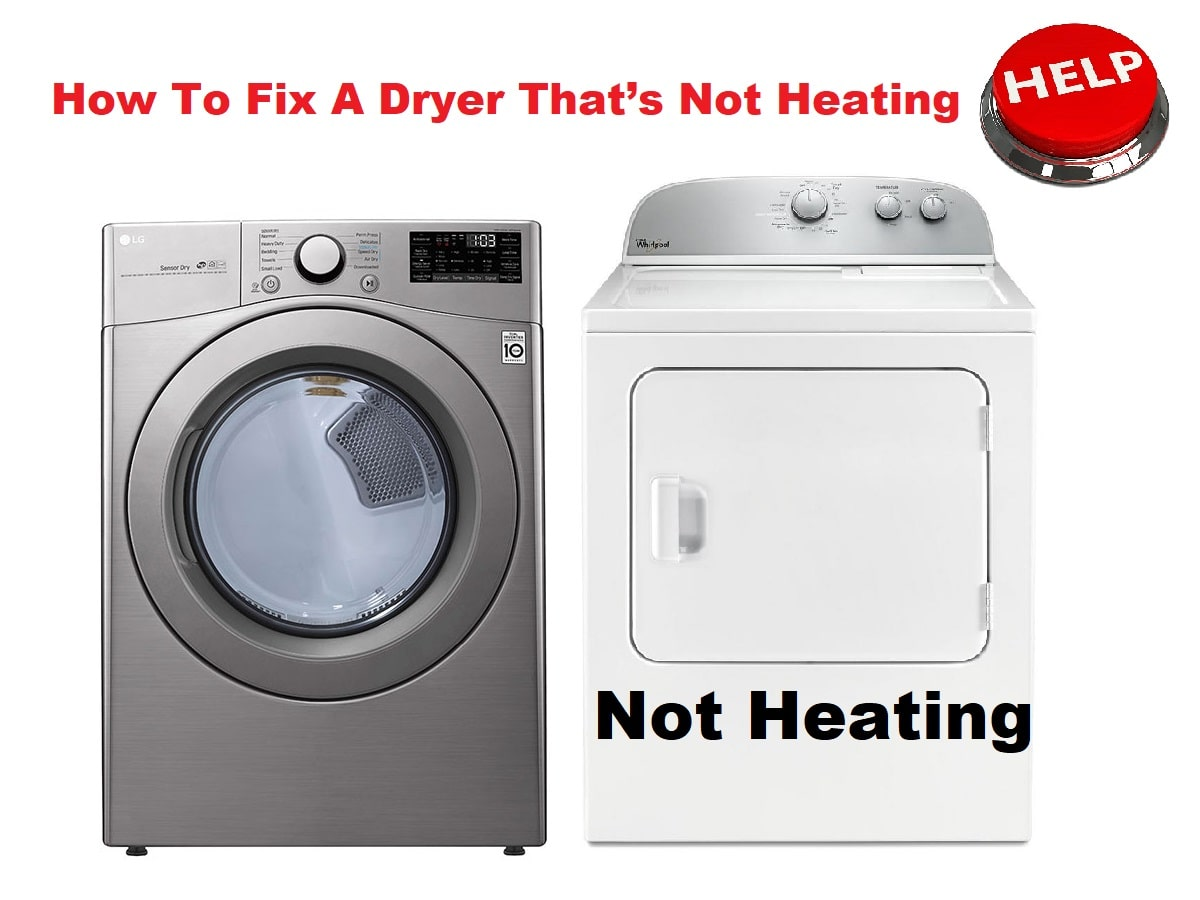 How To Fix A Dryer That's Not Heating