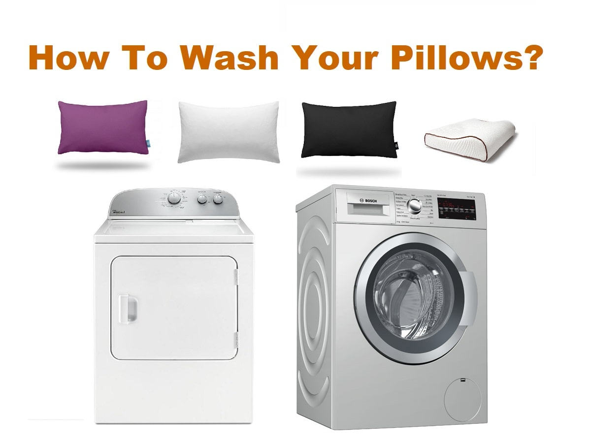 How To Wash Your Pillows?
