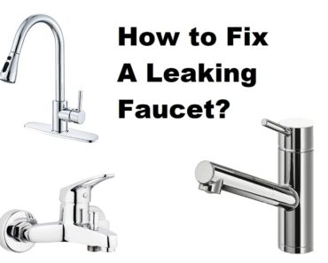 How to Fix A Leaking Faucet