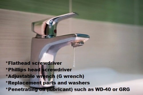 Materials you will need-How to Fix A Leaking Faucet
