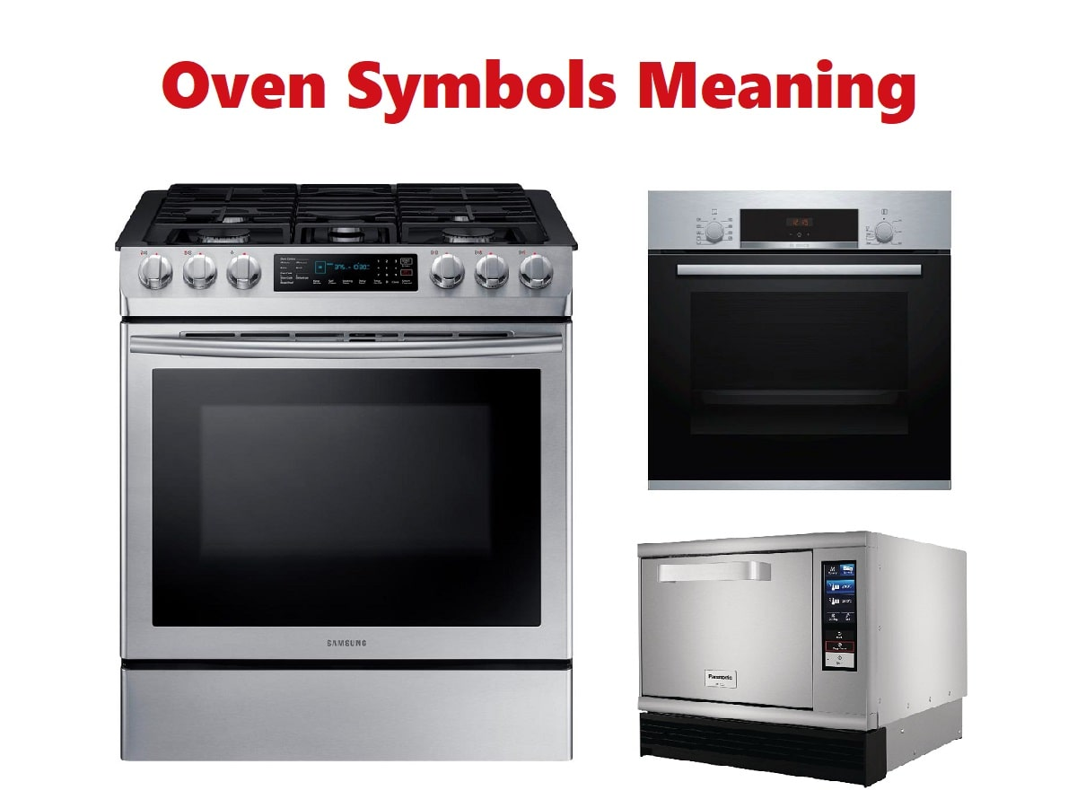 Oven Symbols Meaning