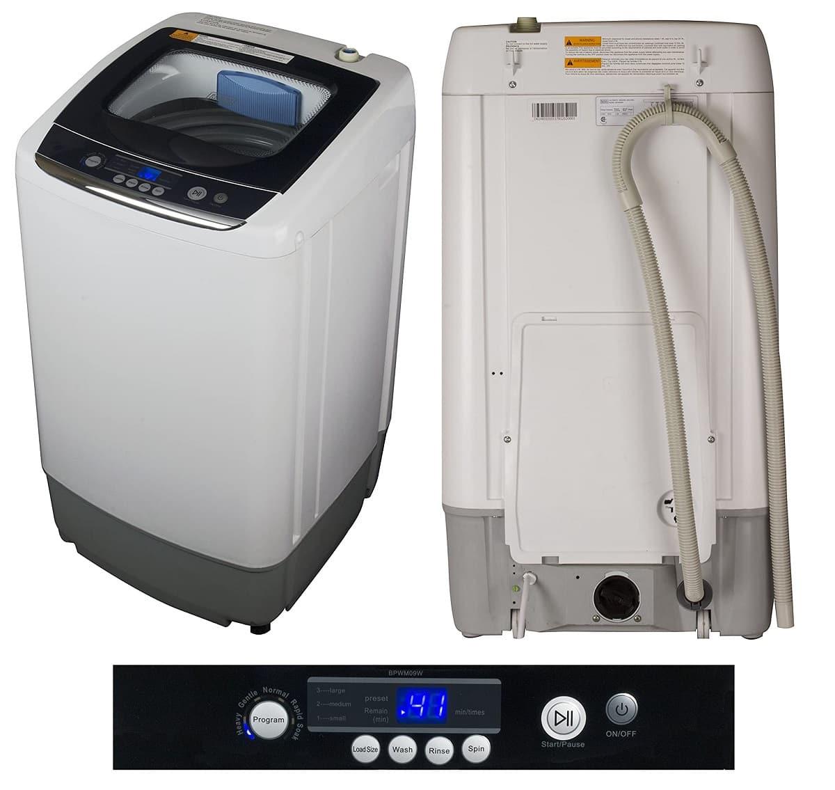 BLACK+DECKER BPWM09W Portable Washing Machine