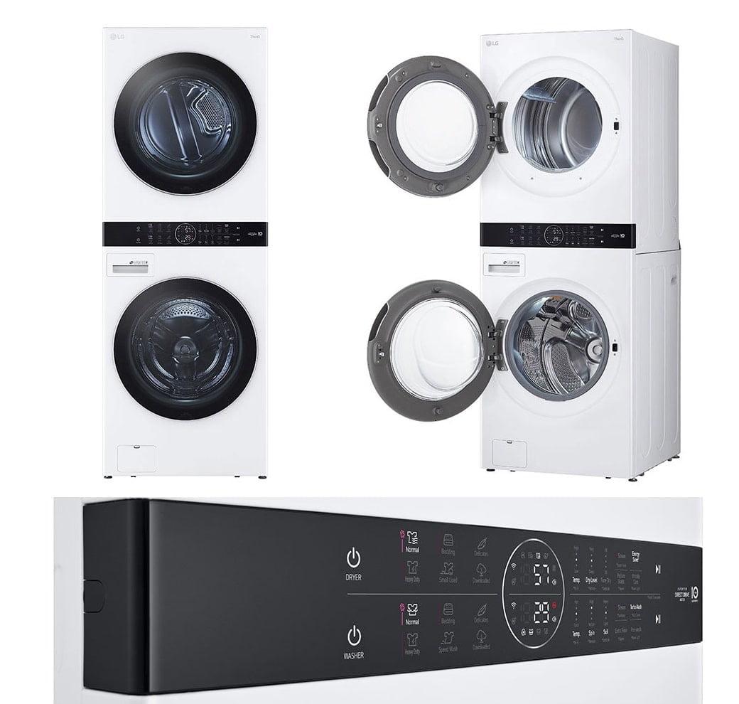 LG WashTower WKEX200HWA 4.5-Cubic-Foot Washing Machine