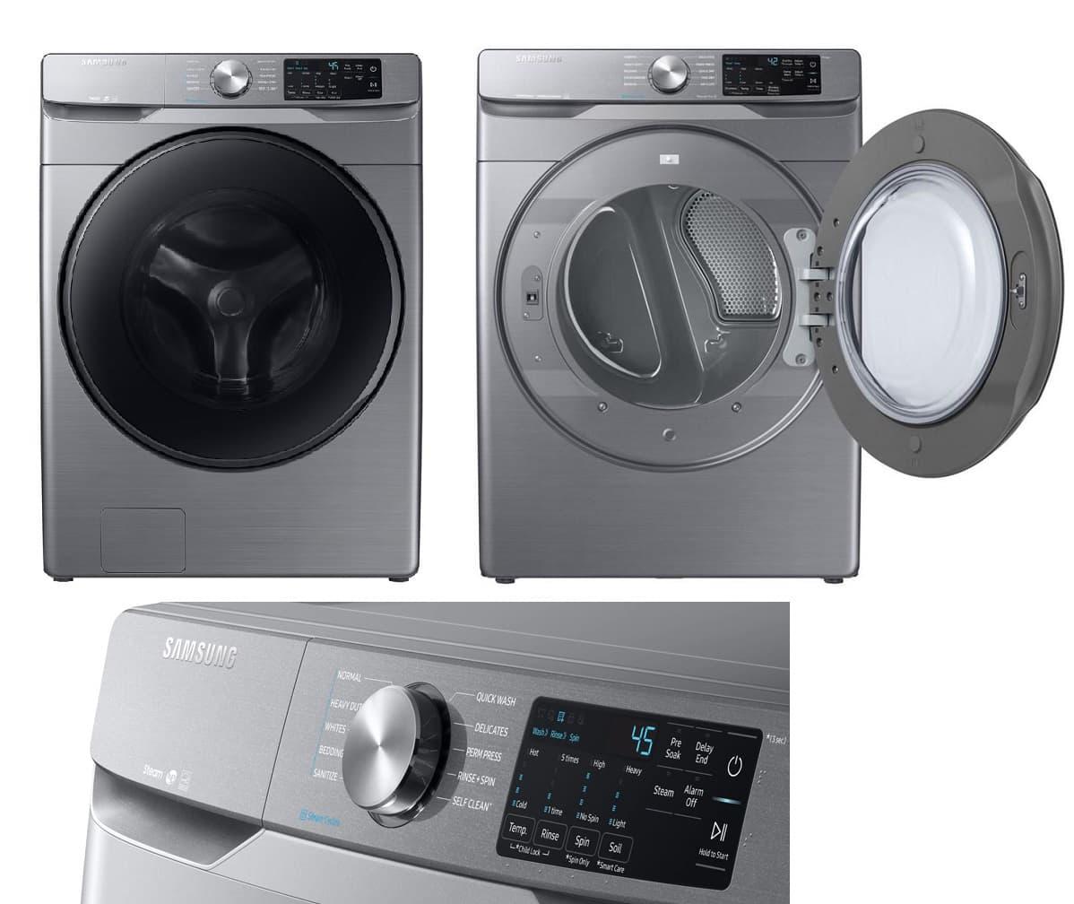 Samsung WF45R6100AP 4.5 cu. ft. High-Efficiency Front Load Washing Machine
