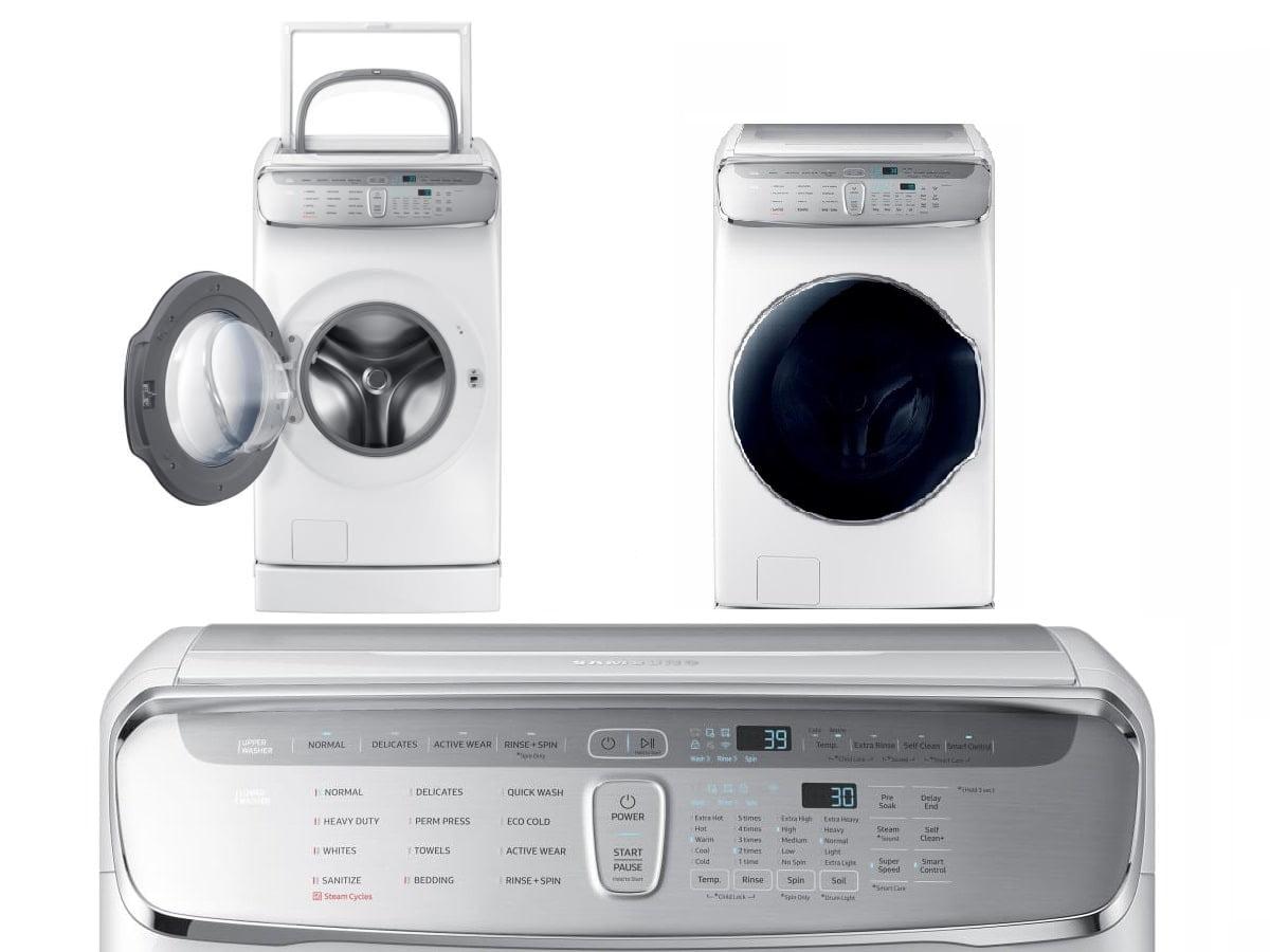 Samsung WV60M9900AW 6.0-Cubic-Foot FlexWash Washing Machine
