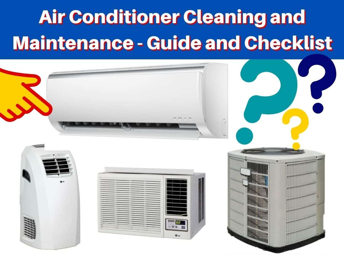 Air Conditioner Cleaning and Maintenance - Guide and Checklist