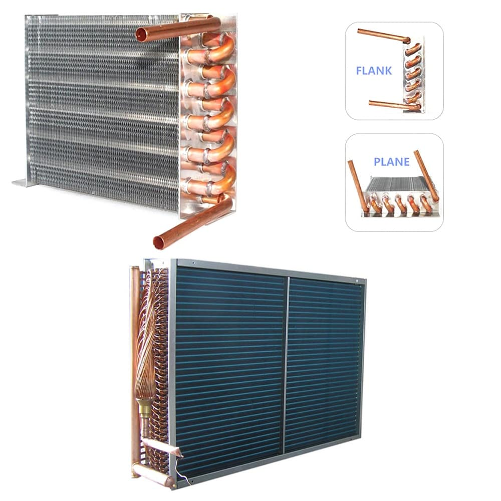 Evaporator and the Condenser Coils