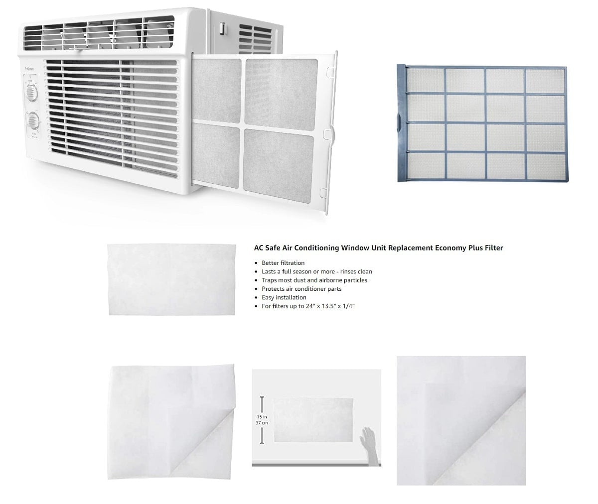 Window Air Conditioner Filter Maintenance