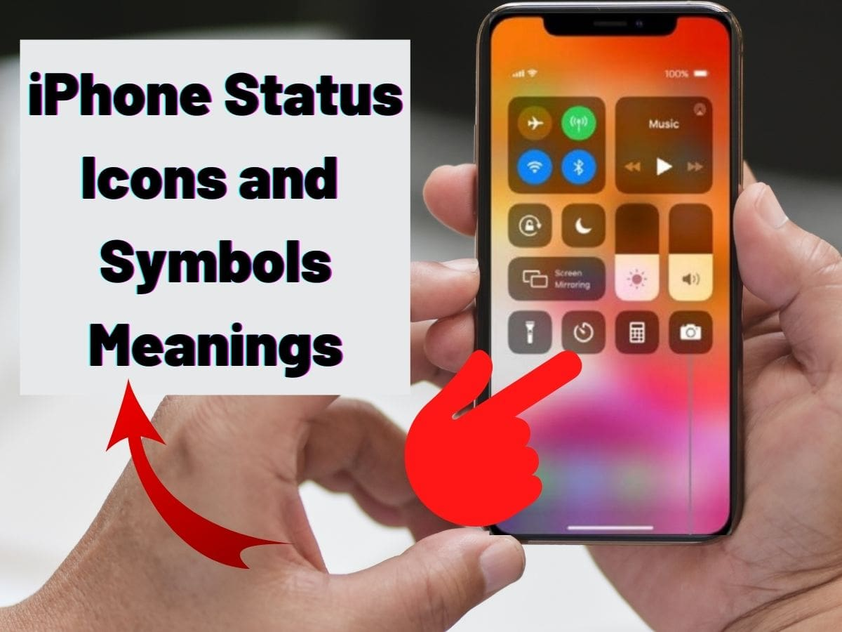 iPhone Status Icons and Symbols Meanings